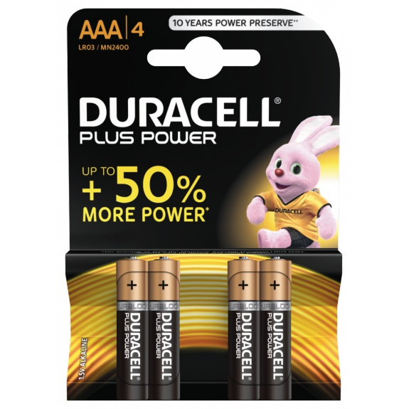 Plus Power AAA Batteries, 4pk
