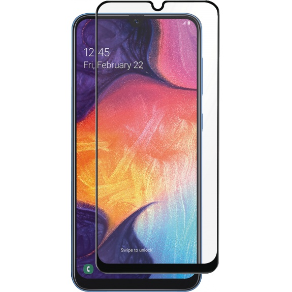 Samsung Galaxy A50 Full-Fit Glass Black