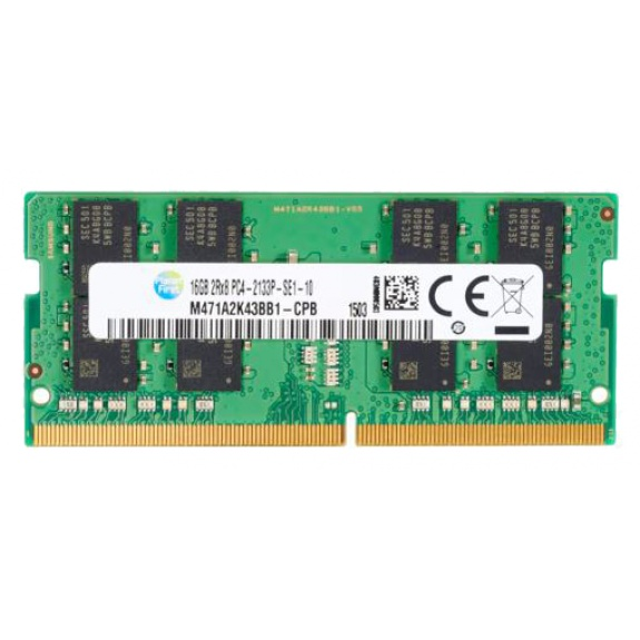 HP 16GB system specific RAM stick, SO-DIMM, DDR4, 2400 MHz