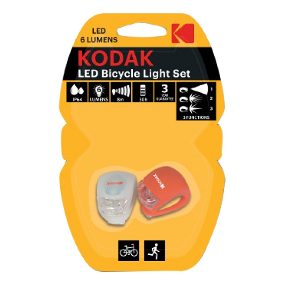 KODAK LED Bike Lights incl.2xCR2032