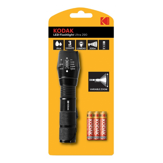 Kodak LED Flashlight Ultra 290