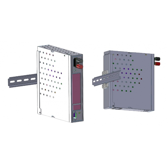 NETONIX WS Model 8 To 12 DIN Rail Mounting Kit