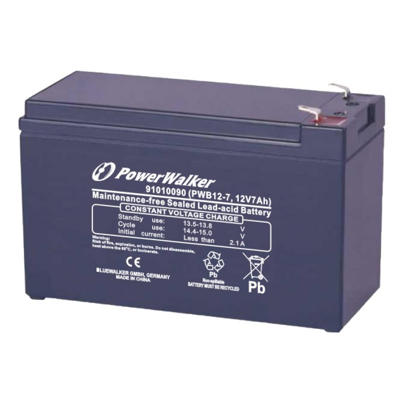 PowerWalker PWB12/7 12V/7Ah Battery